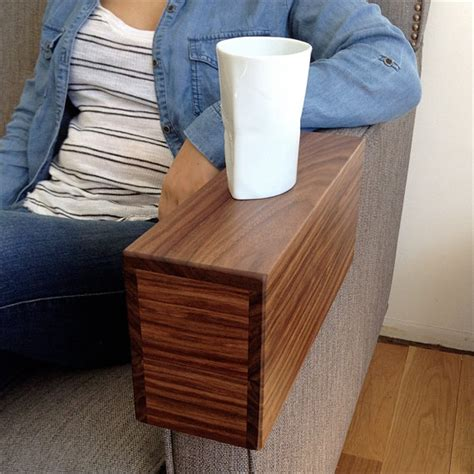 wooden couch sleeve couch arm cover custom solid wood armchair by