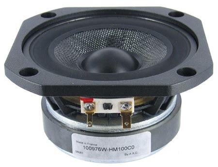 Speaker Audax audax hm100c0 4 quot carbon fiber cone woofer