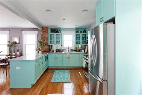Diy Blue Kitchen Ideas Diy Painting Kitchen Cabinets Ideas Pictures From Hgtv Kitchen Ideas Design With Cabinets