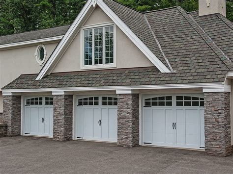 overlay carriage house george and sons garage doors
