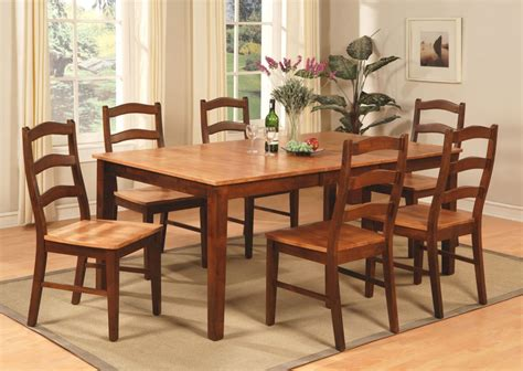 Dining Room Table 8 Chairs 9pc Henley Rectangular Dinette Dining Room Set Table 8 Chairs Espresso Cinnamo Ebay