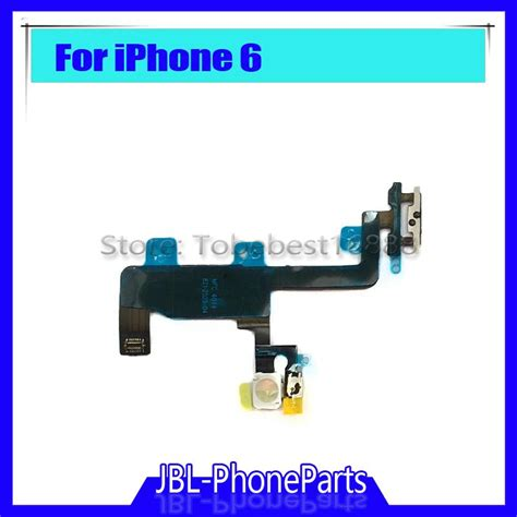 Power Button On Iphone 6g Iphone 6 New Power Button Flex Cable For Iphone 6 6g 4 7 Switch On