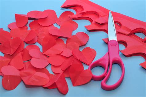 How To Make Tissue Paper Hearts - s day wax wrapping paper baker s twine