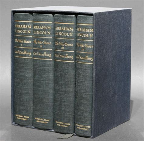 carl lincoln abraham lincoln the war years volumes i iv carl