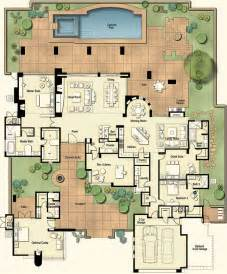 floor plan with courtyard in middle of the house planner house picmia