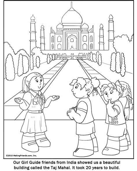 Coloring Pages For India | india coloring pages az coloring pages