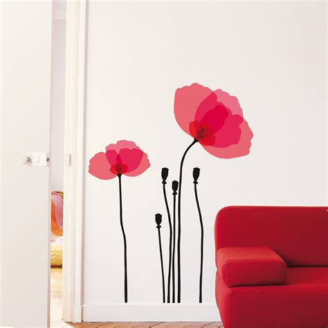 poppy home decor wall decals pink poppy home decor pinterest pink