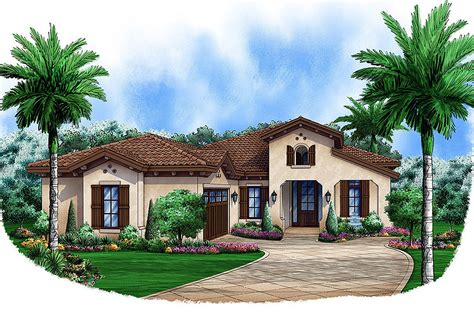 adobe southwestern style house plan 3 beds 3 baths