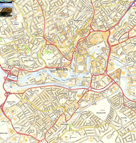 bristol map bristol offline map including the ss great britain