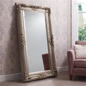 Corner Bookcases For Sale Isabella Silver Leaner Mirror Silver Floor Standing Mirror