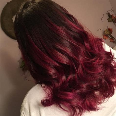maroon color hair maroon ombre hair www imgkid the image kid has it