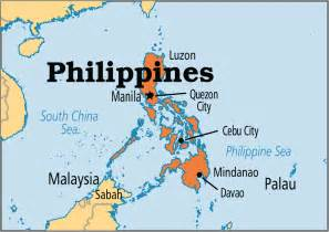 Philippines World Map by Philippines Operation World