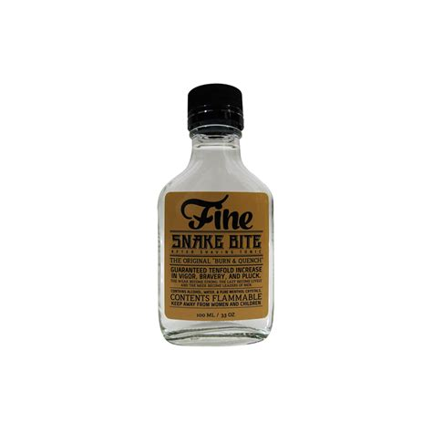 Bite Fighters Lotion 100 Ml accoutrements snake bite aftershave 100ml gifts care