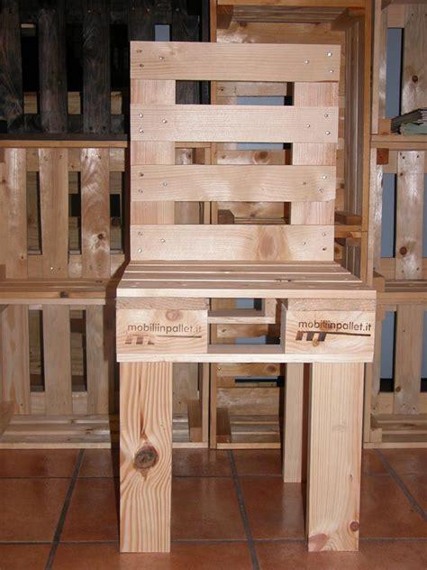 sedie con pallet sedie per ristorante mobili in pallet