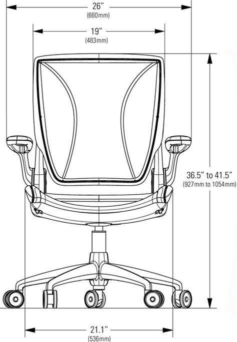 design guidelines for office humanscale diffrient world home office chair ergonomic