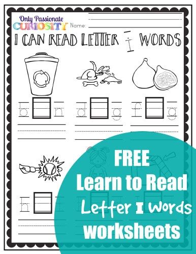 where can i read free free i can read letter i words free homeschool deals