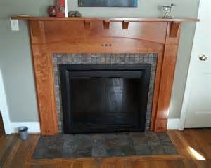Arts and crafts fireplace surround finewoodworking