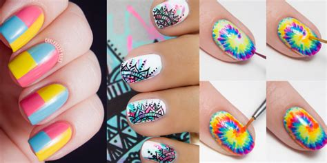 Top 5 Cool Nail Designs Easy To Do 28 Brilliantly Creative Nail Patterns Diy Projects