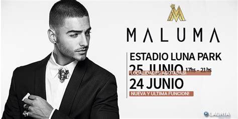 entrada para maluma argentina 2016 maluma en bs as argentina 2016 entradas