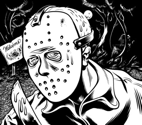 jason voorhees coloring pages online 14 images of friday the 13th coloring pages jason friday