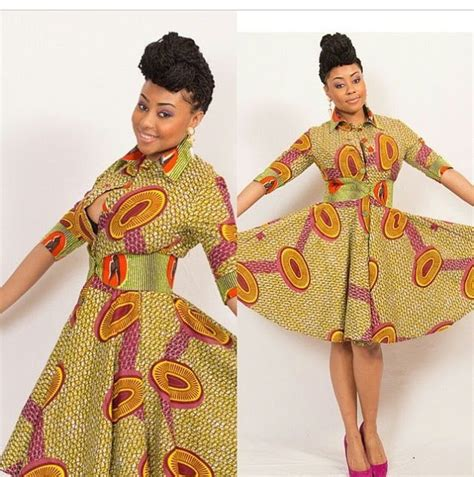 styles for nigeria long wevon style beautiful ankara asoebi short long gowns image nigeria