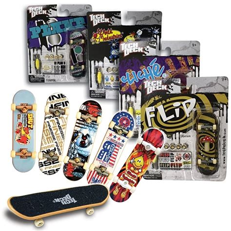 tech deck brands tech deck skateboard single 1 x random design