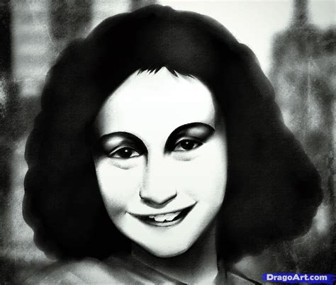 simple biography of anne frank how to draw anne frank step by step stars people free