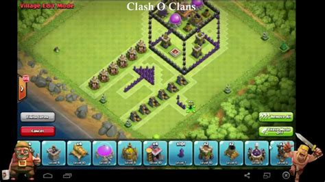 clash of clans 3d box troll base