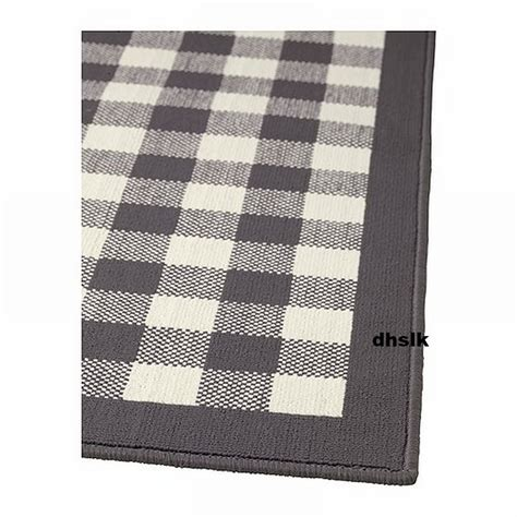 ikea throw rugs ikea millinge checked rug area throw door mat low pile