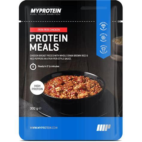 6 protein meals a day buy protein meal peri peri chicken myprotein