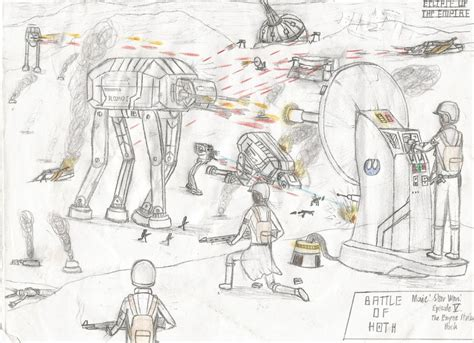 coloring pages hoth battle of hoth by tk9871 on deviantart