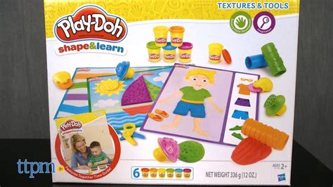 Mainan Anak Play Doh Shapes Learn Textures Tools Mainan Anak play doh shape learn textures tools from hasbro