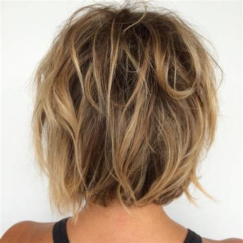 caramel and blondebob styles 60 messy bob hairstyles for your trendy casual looks