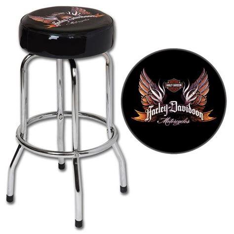 Harley Table And Stools by Harley Davidson 174 Eagle Wings Bar Stool Harley Furniture