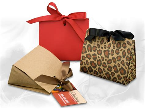 Small Gift Boxes For Gift Cards - gift certificates gift cards ribbon tied mini purse box