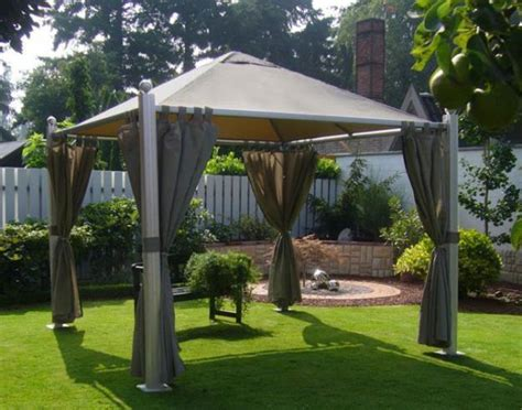 Backyard Gazebo Ideas 25 Metal Gazebo Designs And Great Outdoor Furniture Placement Ideas