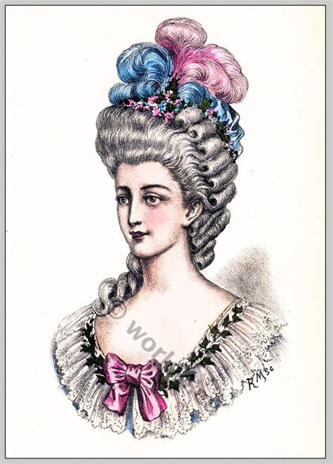 women of france hair styles album of historical hairstyles album de coiffures