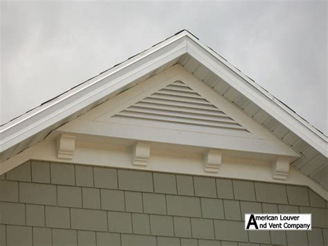 Gable Attic Vent Louvers Traditional Other By