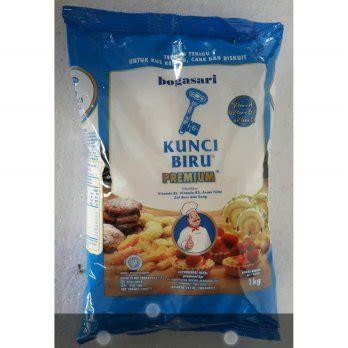 Tepung Segitiga Biru 1kg Murah tepung terigu kunci biru 1 kg 3 pack elevenia