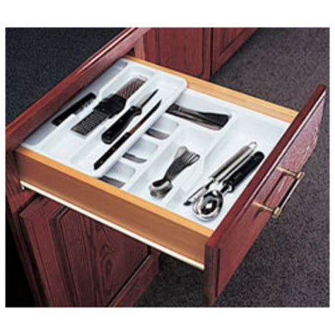 Two Tier Cutlery Tray Drawer Inserts by Knape Vogt Tiered Kitchen Cutlery Drawer Insert