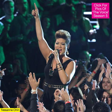tessanne chin hollywood life tessane chin whitney houston on the voice finale