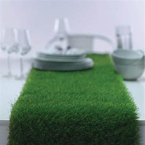artificial grass table runner grass on dinning table artificial grass table runner