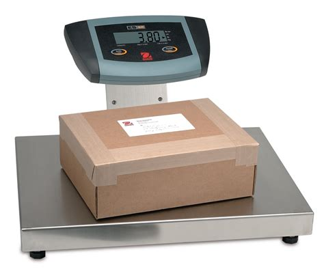 industrial bench scales ohaus es series bench scale brady systems
