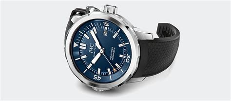 Iwc Scaffhause Blue T1310 3 news and events iwc schaffhausen extends the aquatimer family iwc