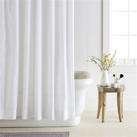 Hotel Shower Curtains by Hotel Shower Curtain Williams Sonoma