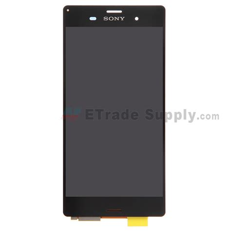 Lcd Toushcreen Sony Xperia Z3 Original sony xperia z3 lcd screen and digitizer assembly black etrade supply