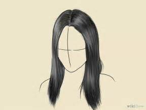 i really wanted to draw some hair styles by solstice 11 on drawn long hair realistic pencil and in color drawn long