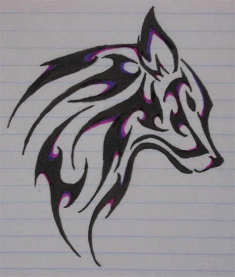 how to draw a wolf tattoo wolf tattoo step by step wolf tattoo by ladyelentari on deviantart awesome