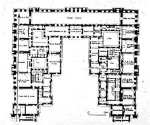 Floor Plan Versailles by J H Mansart Versailles Chateau 1679 Plan Of First
