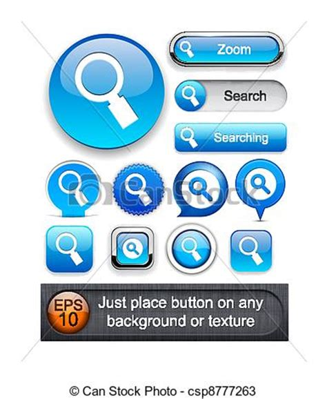 Detailed Free Search Search High Detailed Web Button Collection Search Blue Vectors Search Clip